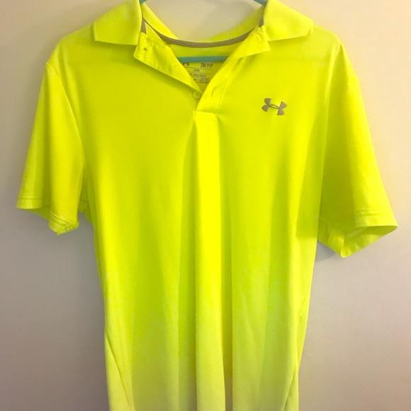 70d66c44 Men's Nike golf shirt. Neon yellow. M_5b71fa127c979d48448a84c2
